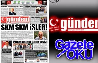 31 Mayıs 2018 Gündem Gazetesi