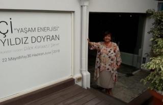 """""""Yaşam Enerjisi"""" sergisi Kıbrıslı sanatseverlerle..."""