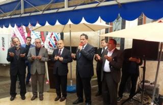 Gölyaka Elif Camisi ibadete açıldı.