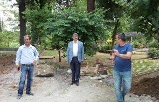 Gazhane Kültür Parkı çalışmaları