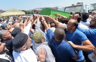 Bahattin Gazi Vakfı Kurucusu Boyraz'ın cenazesi...