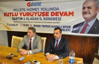 AK Parti İl Başkanı Kalaycı, gazetecilerle buluştu