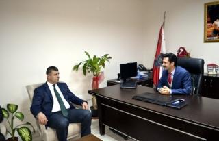 Yavuz'dan protokol ziyaretleri