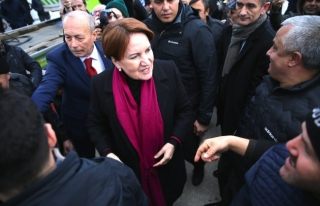 İYİ Parti Genel Başkanı Akşener, Düzce'de