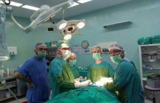 Bartın Devlet Hastanesi'nde tükürük bezi tümörü...