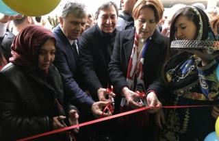 İYİ Parti Genel Başkanı Akşener Karabük'te...