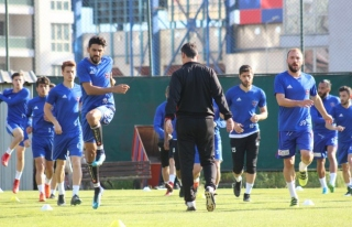 Kardemir Karabükspor'da Göztepe maçı hazırlıkları