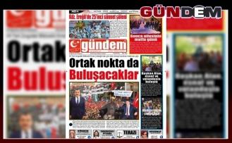 05 AĞUSTOS 2019 PAZARTESİ GÜNDEM GAZETESİ