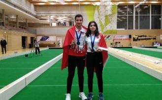 İlk defa katıldığı Raffa Şampiyonası'nda gümüş madalya aldı