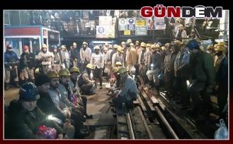 Madenciler kurban kesti...