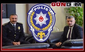 Vali Bektaş Polis Teşkilatını kutladı...