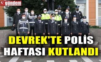 DEVREK'TE POLİS HAFTASI KUTLANDI