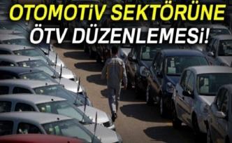 Otomotiv sektörüne yeni ÖTV düzenlemesi