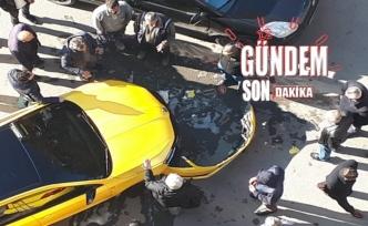 Zonguldak'ta maddi hasarlı kaza!..