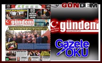 27 Şubat 2019 Çarşamba Gündem Gazetesi