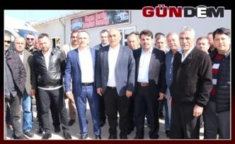 ŞAHİN'DAN STK ZİYARETİ