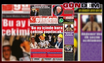 04 Nisan 2019 Perşembe Gündem Gazetesi