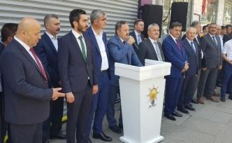 AK Parti teşkilatı bayramlaştı