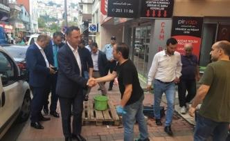 Zonguldak'ta hasar tespit çalışmaları sürüyor...