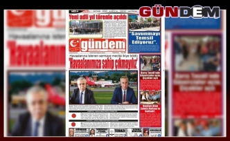 03 Eylül 2019 SALI GÜNDEM GAZETESİ