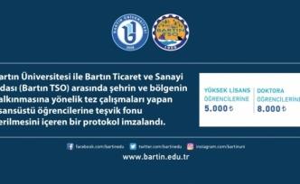Bartın TSO 'bölgesel odaklı' çalışmalarda lisansüstü öğrencileri destekleyecek