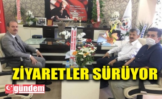 ZEKİ TOSUN'DAN ALİ TOSUN'A ZİYARET
