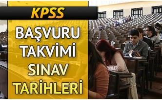 KPSS BAŞVURU TARİHLERİ BELLİ OLDU
