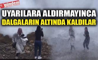 UYARILARA ALDIRMAYINCA DALGALARIN ALTINDA KALDILAR