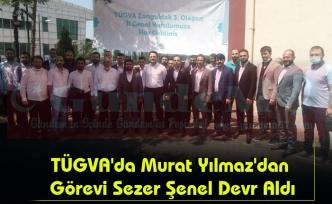 TÜGVA'da Murat Yılmaz'dan Görevi Sezer Şenel Devr Aldı