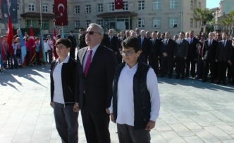 Akçakoca'da 23 Nisan kutlamaları törenle başladı
