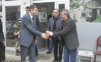 Kaymakam Öztürk'ten esnaf ziyareti