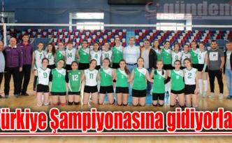 Türkiye Şampiyonasına gidiyorlar