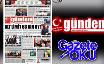 17 Mayıs 2018 Gündem Gazetesi