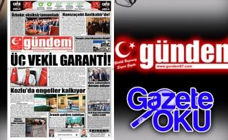 18 Mayıs 2018 Gündem Gazetesi