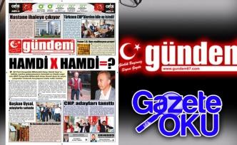 29 Mayıs 2018 Gündem Gazetesi