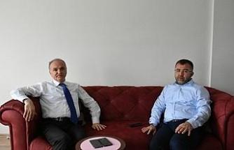 Bakan Özlü'den AK Parti Düzce İl Başkanı Keskin'e geçmiş olsun ziyareti