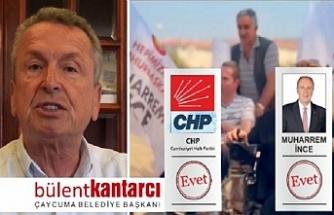 Başkan Kantarcı'dan videolu destek