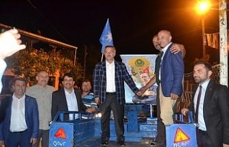 Türkmen köylerde!