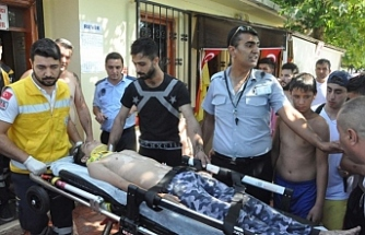 Boğulma tehlikesi geçiren çocuk kurtarıldı!