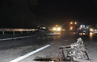 Feci kaza; 1 ölü 1 yaralı