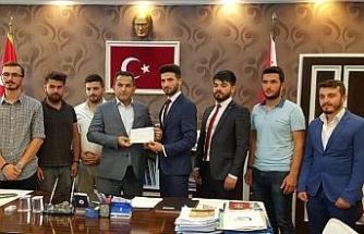 Düzce Üniversitesi öğrencilerinden anlamlı bağış