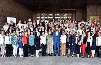 Düzceli Kadın Girişimciler'den Pekcan ve Hisarcıklıoğlu'na ziyaret