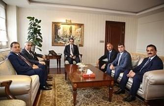 GMİS'ten Enerji Bakanı Dönmez'e ziyaret!