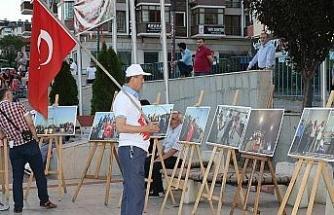 İHA'nın 15 Temmuz sergisi Safranbolu'da ilgiyle karşılandı