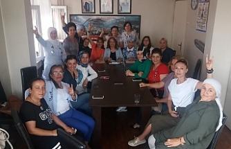 MHP Kadın Kollarında atamalar yapıldı…