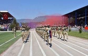 2 bin 381 uzman erbaşın asayiş kursunu tamamladı