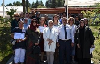 STK temsilcilerine teşekkür belgesi verildi