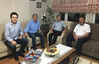 Vali Çınar'dan Ayan'a taziye ziyareti