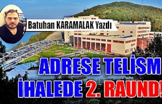 ADRESE TELİSM İHALEDE 2. RAUND!