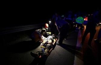 Anadolu Otoyolu'nda kaza: 5 yaralı